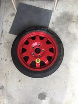 spare tire for Porsche in Okinawa, Japan