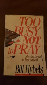 Too Busy Not to Pray Book in Bolingbrook, Illinois