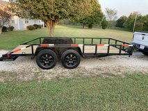 "W.W. 16' x 8' 6"" Utility/Car Hauler Trailer in Fort Leonard Wood, Missouri"