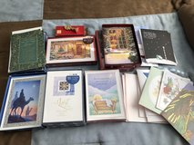 Over 100 ASSORTED NEW CHRISTMAS CARDS WITH MATCHING ENVELOPES & WAX STAMP KIT in Fort Riley, Kansas
