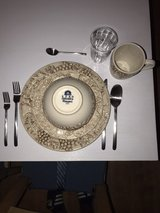 Dishes with Flatware and Glasses in Stuttgart, GE
