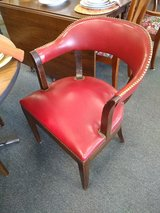 4 Dark Red Arm Chairs in Chicago, Illinois