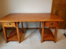 Solid Wood Desk in Yorkville, Illinois