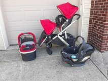 Uppababy vista 2015 with all the extras! in Yorkville, Illinois