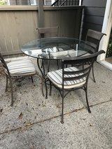 Patio set in Miramar, California