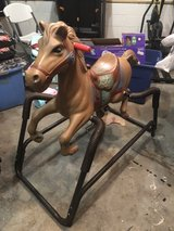 Older Rocking Horse in Fort Campbell, Kentucky