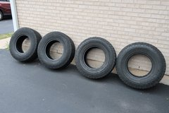 Set of 4 Used Nitto Terra Grappler LT265/75R16 Truck Tires in Naperville, Illinois