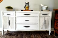 Refinished Buffet  / Sideboard  / TV Console in Naperville, Illinois
