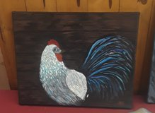 Chicken painting in Elizabethtown, Kentucky