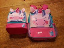 Unicorn backpack and lunchbox in Naperville, Illinois