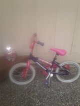 Girl's Bicycle and Princess Helmet in Fort Lewis, Washington