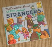 Vintage 1986 Berenstain Bears Learn About Strangers Soft Cover First Time Books in Plainfield, Illinois