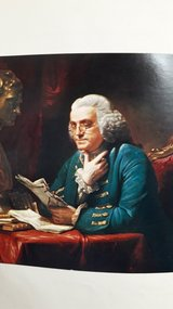 The autobiography of Benjamin Franklin in Ramstein, Germany