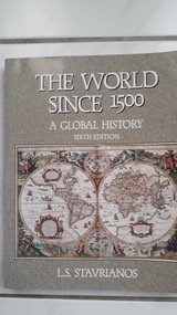 The World since 1500 by Stavrianos in Ramstein, Germany