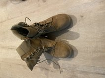 New Bates boots in Camp Pendleton, California