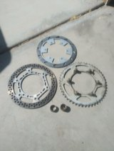 2003 yz250 sprocket disks and spacers $30 in Yucca Valley, California