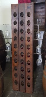French Riddling Rack with Glass holders in Wiesbaden, GE
