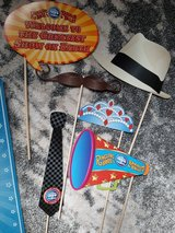 Circus carnival photo props in Orland Park, Illinois