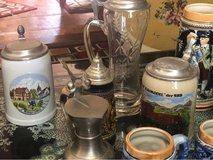 13 German beer Steins in Alamogordo, New Mexico