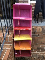 Weekly closet organizer for kids in Warner Robins, Georgia