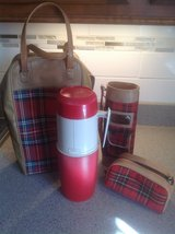 Red Plaid Thermos Holder and Thermos in St. Charles, Illinois
