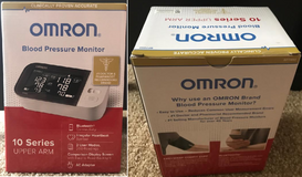 Omron 10 Series Wireless Upper Arm Blood Pressure Monitor in Oswego, Illinois