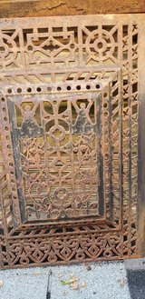 Antique Fireplace screen/cover in Bolingbrook, Illinois