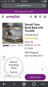 TRIPLE Bunk Bed in Vacaville, California
