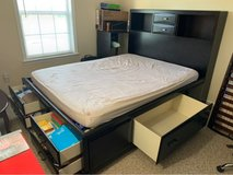 Caitbrook Queen Storage Bed with 8 Drawers in West Orange, New Jersey