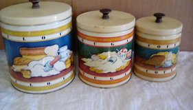 VINTAGE STORAGE CANS in 29 Palms, California