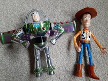 Toy Story Woody and Buzz Lightyear in Chicago, Illinois