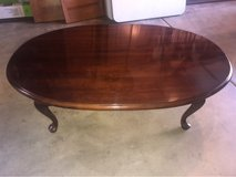 Cherry Oval coffee table in St. Charles, Illinois