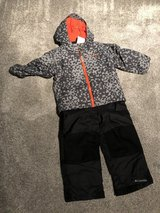 Columbia Winter Coat and Snowpants 4T in Chicago, Illinois
