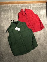 Land's End Puffy Vest Size S 7/8 in Chicago, Illinois