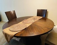 Round dining table set for 4 in Vacaville, California