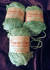 Lot of 3 Premier Home Green (Lot #5895) Splash Cotton yarn in Great Lakes, Illinois
