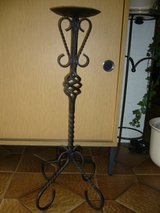 TALL WROUGHT IRON CANDLESTICK in Ramstein, Germany