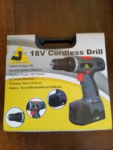 18 Volt Cordless Drill in Beale AFB, California