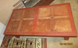 Heavy Tile Topped Coffee table in Alamogordo, New Mexico