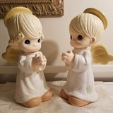 "Precious Moments Collection 1998 Boy & Girl 13"" Praying Garden Angels of 13"" in Chicago, Illinois"