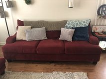 Couch and loveseat with ottoman in Fairfield, California