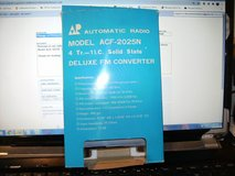 Vintage AUTOMATIC RADIO FM Radio Car Truck Stereo Model ACF-2025N in Clarksville, Tennessee