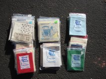 CHOOS E FROM 39 PACKAGES OF NEW CROSS STICH FABRIC in Bartlett, Illinois