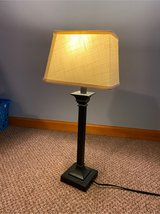 brass off white Lamp in Morris, Illinois