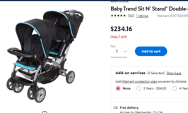 new condition baby steps stroller ( very clean ) in Okinawa, Japan