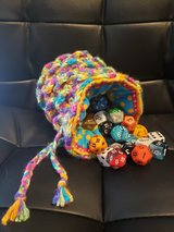 crochet dice bag 2 in Fort Riley, Kansas