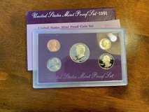 2 United States Mint Proof Sets 1991 and 1987 in Ramstein, Germany