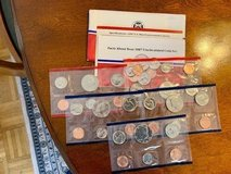 5 - 1987 U.S. Mint Uncirculated Coin Set w/ D & P Mint Marks in Ramstein, Germany