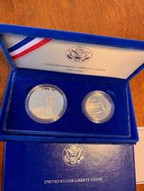 1886-1986 United States Liberty Coins Statue of Liberty/Ellis Island Proof Set in Ramstein, Germany