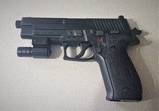 Sig Sauer Pistol in Lakenheath, UK
